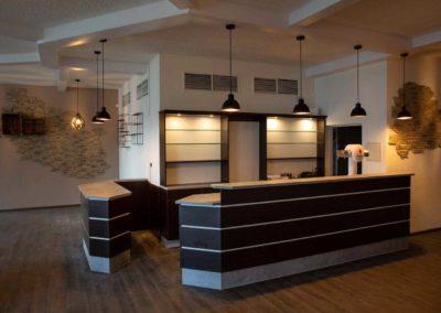 Innenraum der Gaststätte Römerterrasse Ransbach-Baumbach modernisiert